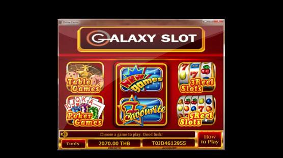 galaxyslot-5Reel Slots