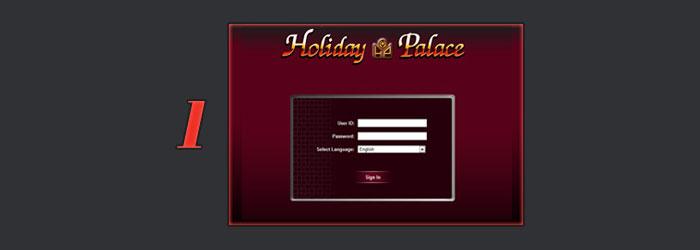 เว็บไซต์ holiday palace