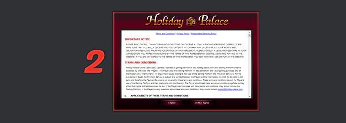 การเล่น holiday palace