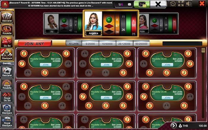 Sbobet roulette